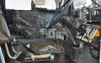 Driver Leads 28 Kids Off Bus Before It Ignites