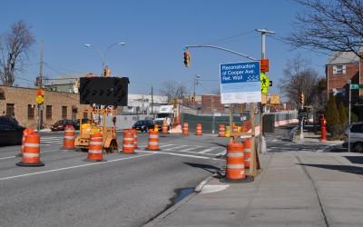 Cooper Avenue Undergoing Overhaul