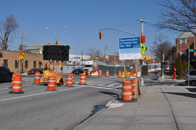 Cooper Avenue Undergoing Overhaul