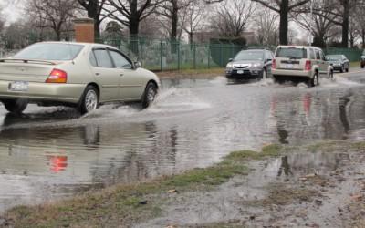 DEP Curbs Flooding on Metropolitan Avenue