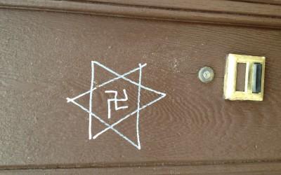 Swastikas, Tagging Drawn on Maspeth Church