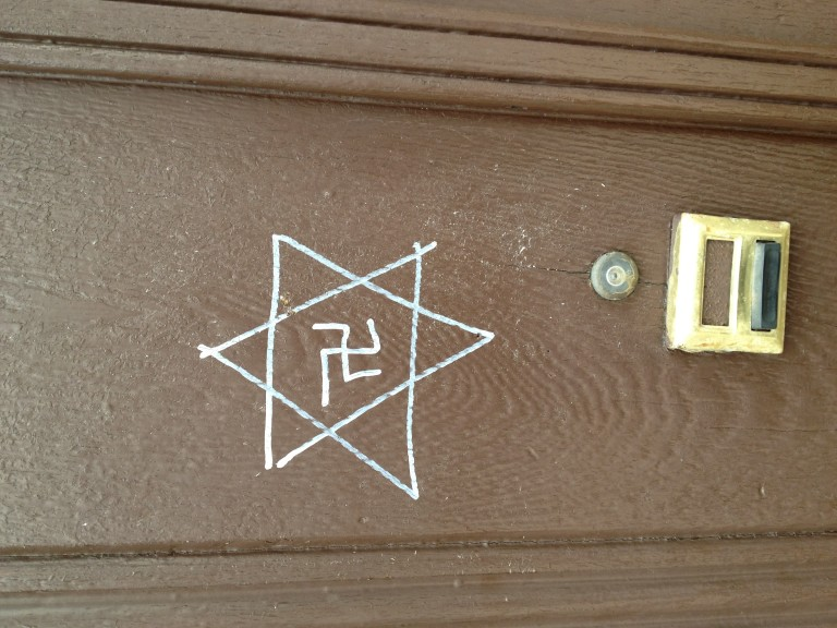 Swastikas, Tagging Drawn on Maspeth Church