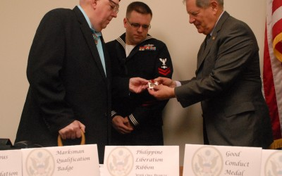 Congressman Awards Missing WWII Medals