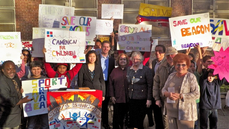 Politicians Rally for Forest Hills After School Program