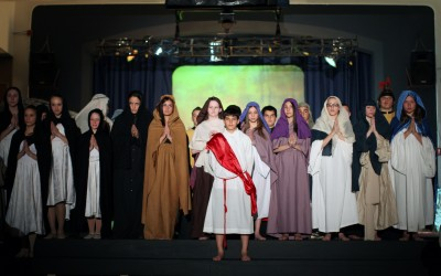 Our Lady of Grace Passion Play Draws Full House