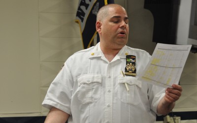 112th Precinct Talks Graffiti, Latest Crime Stats