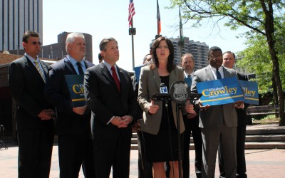 PBA President Coaches Crowley on Stop-and-Frisk