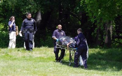 Body Found Under Burning Garbage in Forest Park