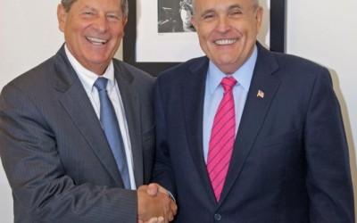 Giuliani Endorses Turner for Senate