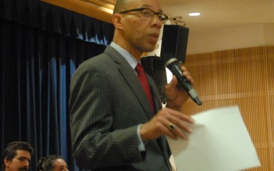 Walcott Addresses Special Ed, Turnaround at Town Hall