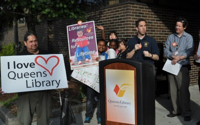 Save Our Libraries, Shout Residents
