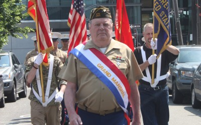 Howard Beach Parade Honors VFW Commander