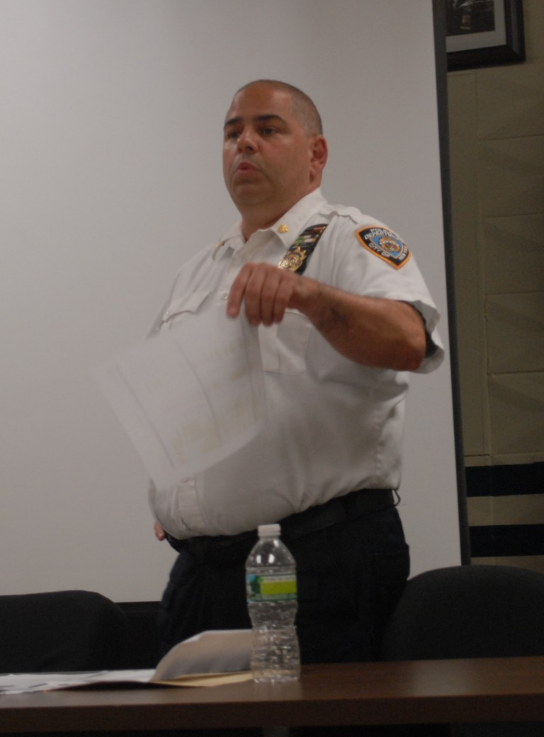 112th Precinct Hopes for Double-Digit Crime Reduction