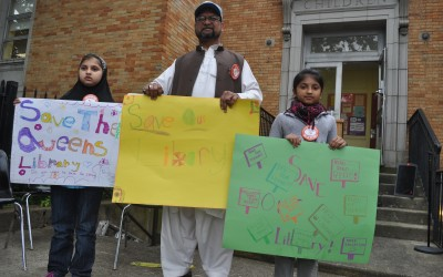 Richmond Hill Rallies for Library