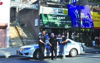 Cops: Man Shot Himself in Forest Hills Station