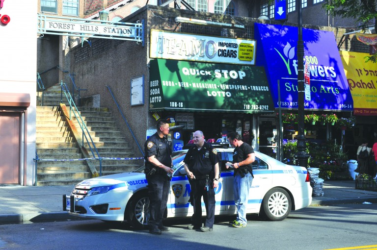 Cops: Man Shot Himself in Forest Hills Station