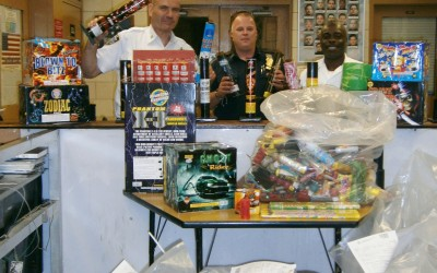 106th Precinct Cracks Down on Fireworks