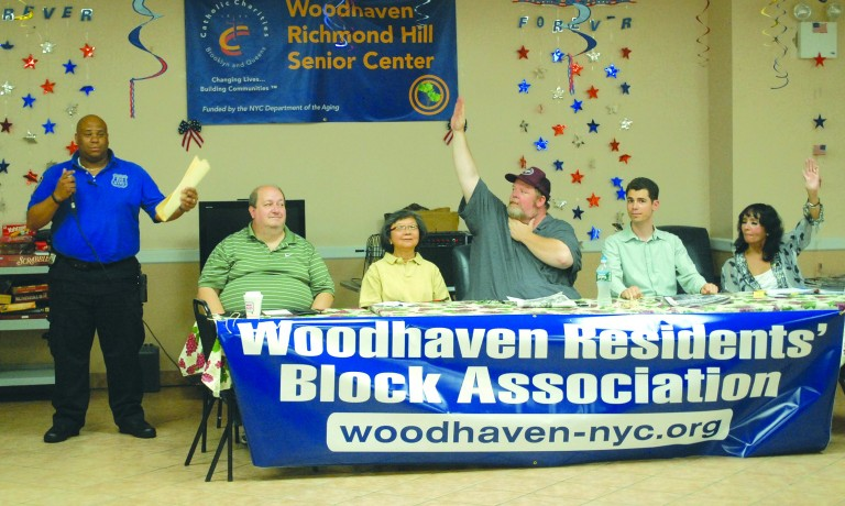 Woodhaven Residents' Block Association Combats Noise and Graffiti