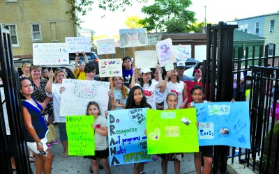 P.S/I.S 119 Students Rally For Excessed Teacher