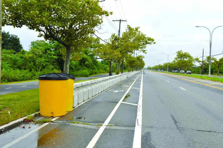 New Pedestrian Rail Barrier Installed in Broad Channel