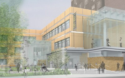 State-of-the-Art Elmhurst Library Inches Closer to Opening