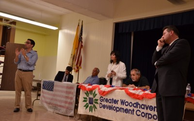 Ulrich and Addabbo Face Off at Woodhaven Candidate's Night