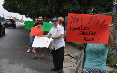 Glendale Residents Rally Against Shelter