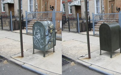 Two Arrested for Graffiti in Woodhaven