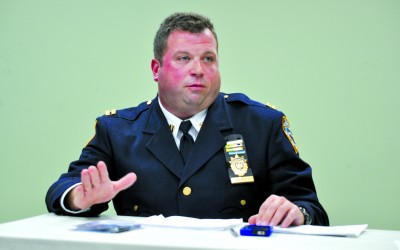 104 Captain Talks Crime At Latest COMET Meeting