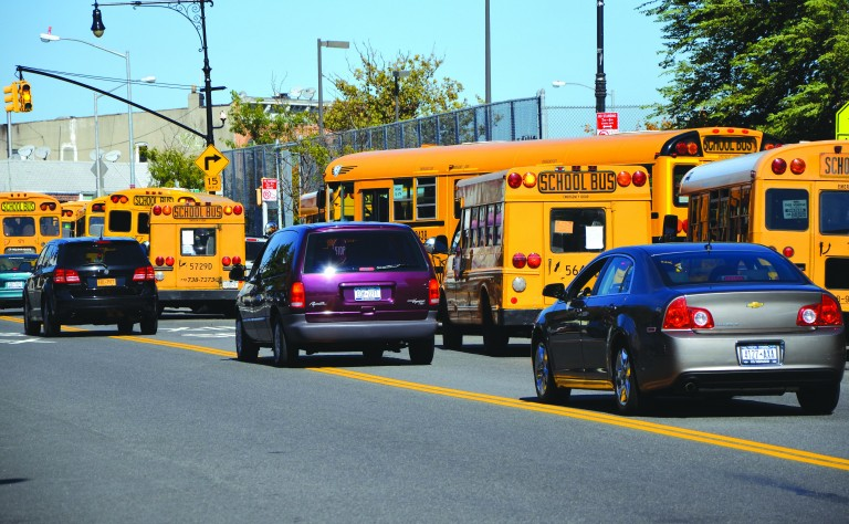 Traffic Problems During School Dismissal Have Parents Worried