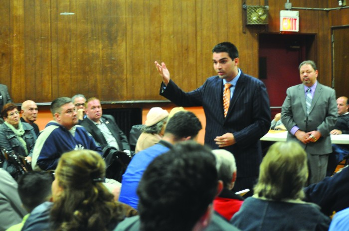 Addabbo and Ulrich Debate in Middle Village