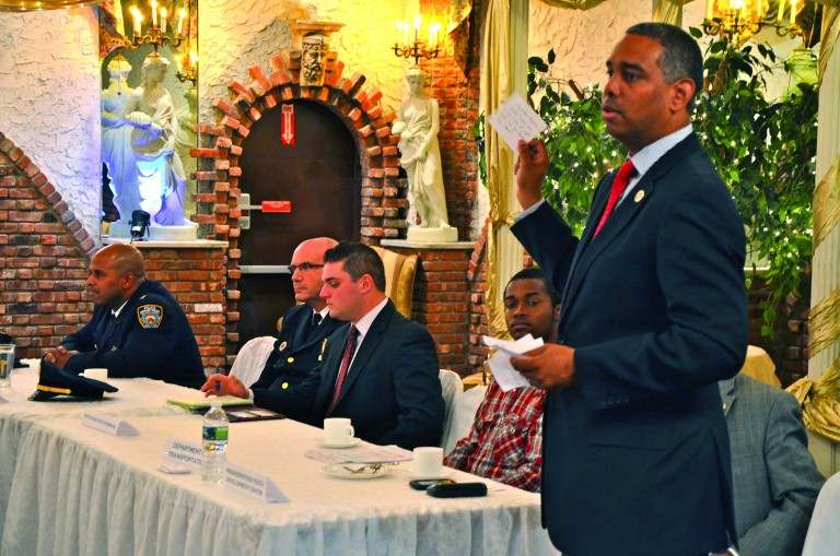 Traffic Complaints Abound at Meeting
