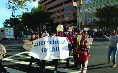 JHS 190 Students Rally for Afterschool Programs