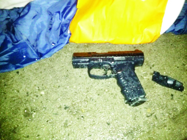 Man with Air Pistol Shot and Killed