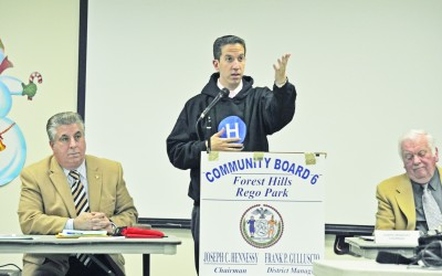 Goldfeder Pleads Case for LIRR Line to Forest Hills