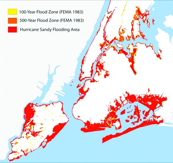 FEMA Redraws Flood Zones