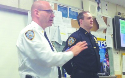 106th Precinct Calls Meeting to Alert Residents — Burglary spike generates concern, prevention stressed
