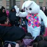 The Easter Bunny was very hoppy to share high fives and big hugs with all those who came eggspecially to have their picture taken with him!