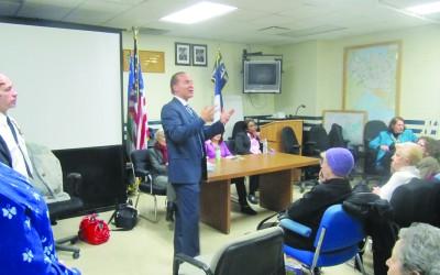 112th Precinct Council To Address Rash Of Burglaries – Vallone Speaks On Safety