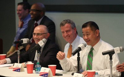 At Queens College Debate, Candidates Talk Stop-and-Frisk, Rebuilding After the Hurricane and Education