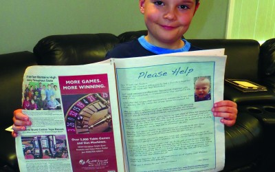 Helping Hands at AMCA – From one little guy to another, the gift of love