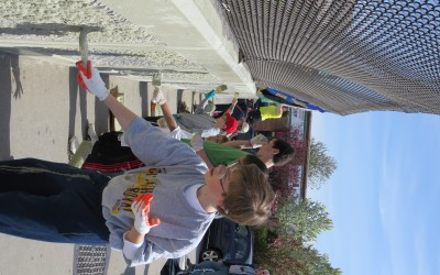 JPCA Takes On Spring Cleaning – Civic and volunteers tackle graffiti