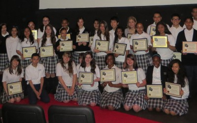 St. Thomas the Apostle Students Debut Woodhaven History Film