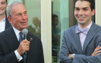 Up on the Roof – Bloomberg joins Ulrich at Vetro for fundraiser