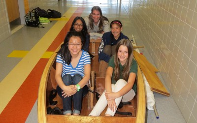 Ahoy! Metropolitan Students' Boat Sails in Hudson River