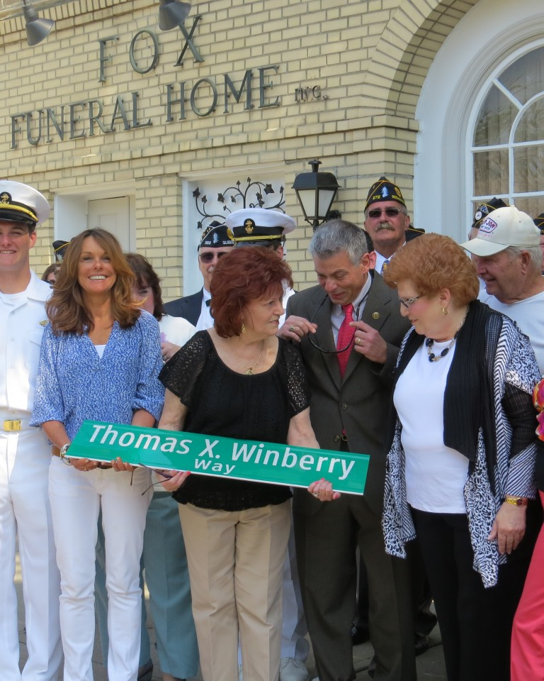 Forest Hills Honors a Patriot – Ceremony to Unveil Thomas X. Winberry Way at Metro and Ascan