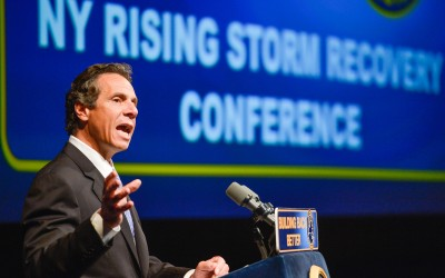At Disaster Conference, Cuomo Meets With South Queens Reps To Talk Storm Reconstruction