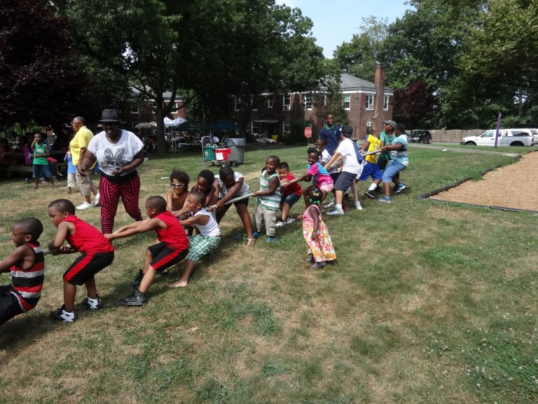 At Festival For Queens' Oldest Foster Care Group, A Chance For Parents And Children To Bond
