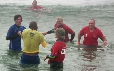 Wounded Warriors Make A Big Splash At Rockaway Sports Festival