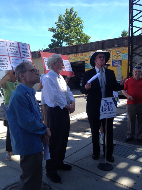 Avella Throws Support Behind Reactivating Rockaway Rail Line